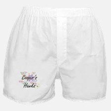 Cooper's Hawks artistic design with f Boxer Shorts