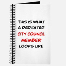 dedicated city council member Journal