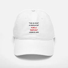dedicated public servant Baseball Baseball Cap