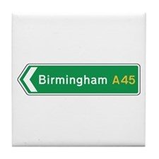 Birmingham Roadmarker, UK Tile Coaster