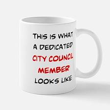 dedicated city council member Mug