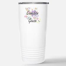Canadian Geese artistic Travel Mug