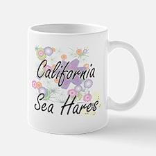 California Sea Hares artistic design with flo Mugs