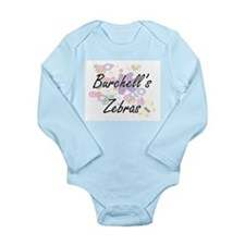 Burchell's Zebras artistic design with f Body Suit