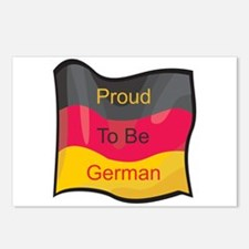 Proud to be German Postcards (Package of 8)