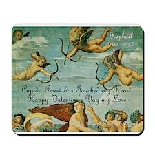 Valentine Love & Cupids: Mousepad