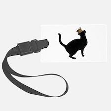 Cat Crown Luggage Tag