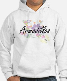 Armadillos artistic design with Hoodie