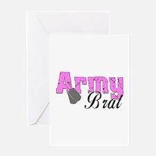 Army Brat Greeting Card