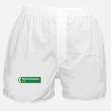 Wolverhampton Roadmarker, UK Boxer Shorts