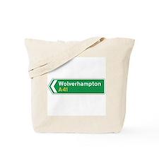 Wolverhampton Roadmarker, UK Tote Bag