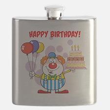 Funny No clowns Flask