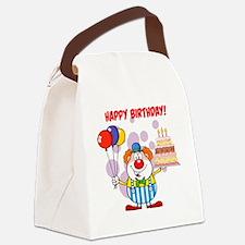 Cute Celebrate Canvas Lunch Bag