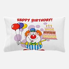 Birthday Clown Pillow Case