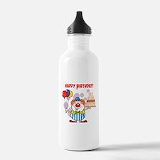 Birthday Clown Water Bottle