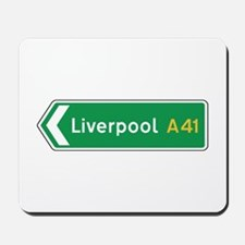 Liverpool Roadmarker, UK Mousepad