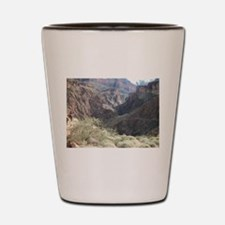 Bright Angel Mule Ride To Phantom Ranch Shot Glass