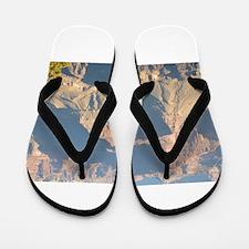 South Rim Grand Canyon Overlook Flip Flops