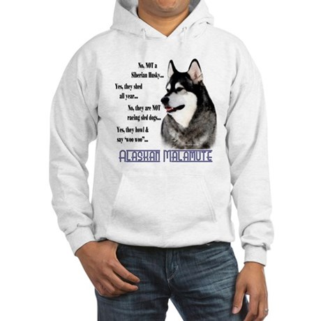 Malamute FAQ2 Hooded Sweatshirt