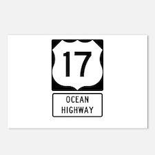 US Route 17 Ocean Highway Postcards (Package of 8)
