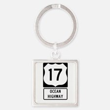 US Route 17 Ocean Highway Keychains