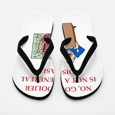 med school joke Flip Flops