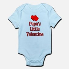 Papa's Little Valentine Body Suit