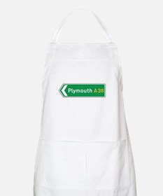 Plymouth Roadmarker, UK BBQ Apron