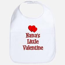 Nana's Little Valentine Bib