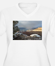 South Rim Grand Canyon Overlook Plus Size T-Shirt