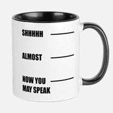 Shh Coffee Mugs Mugs