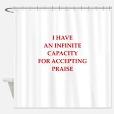 praise Shower Curtain