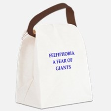 giants Canvas Lunch Bag