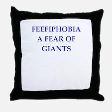giants Throw Pillow