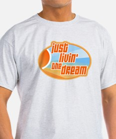 Unique Living the dream T-Shirt