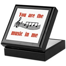 MUSIC IN ME Keepsake Box