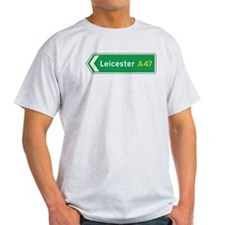 Leicester Roadmarker, UK T-Shirt