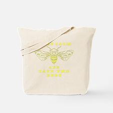 Funny Honeybees Tote Bag