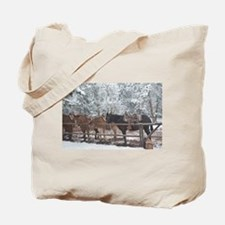 Mule Ride at the Grand Canyon Tote Bag