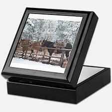 Mule Ride at the Grand Canyon Keepsake Box