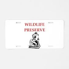wildlife Aluminum License Plate