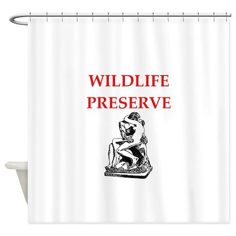 Wildlife Shower Curtain By Allgodscreations