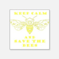 Keep Calm and Save the Bees Sticker