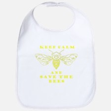 Keep Calm and Save the Bees Bib