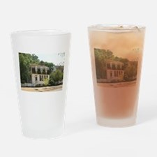 Historic Colonial Style Home Virgin Drinking Glass