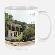 Historic Colonial Style Home Virginia Mugs