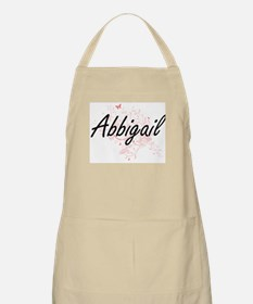 Abbigail Artistic Name Design with Butterfli Apron
