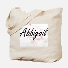 Abbigail Artistic Name Design with Butter Tote Bag