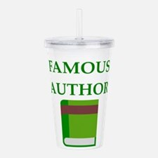 famous author Acrylic Double-wall Tumbler