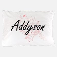 Addyson Artistic Name Design with Butt Pillow Case